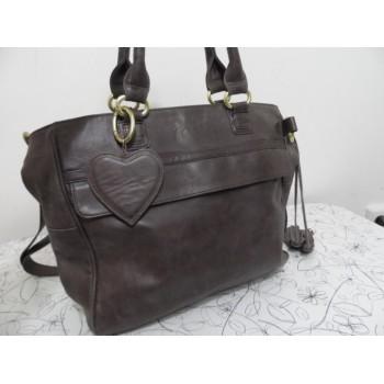 Якісна жіноча шкіряна сумка FAB