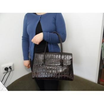 Якісна шкіряна жіноча сумка BLOBUS / MADE IN ITALY