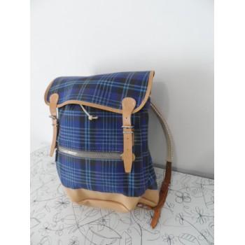 Вінтажний рюкзак з Швейцарії /шкіряні лямки