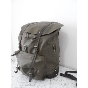 Вінтажний супер-міцний швейцарський армійський рюкзак (каркас+шкіра)