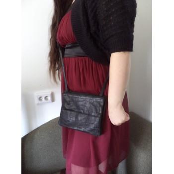 Шкіряна жіноча сумка на плече Selected Femme /ОРИГІНАЛ