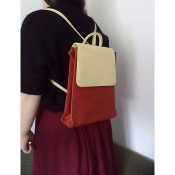 ЕКСКЛЮЗИВ! Шкіряний жіночий рюкзак Cleo&Patek