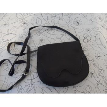 Вінтажна шкіряна жіноча сумка на плече
