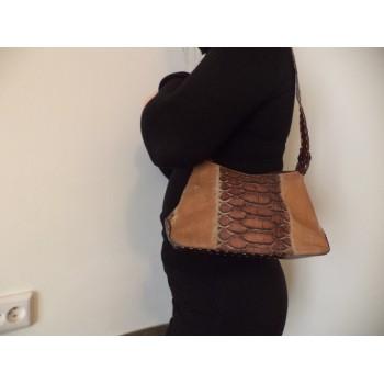Вінтажна шкіряна жіноча сумка B. Cavalli /ОРИГІНАЛ