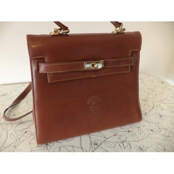Шкіряна жіноча сумка Yancci /Made in Italy