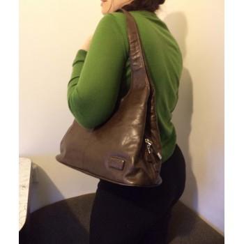 Якісна шкіряна жіноча сумка TOCO