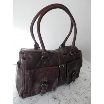 Якісна шкіряна жіноча сумка VARESE